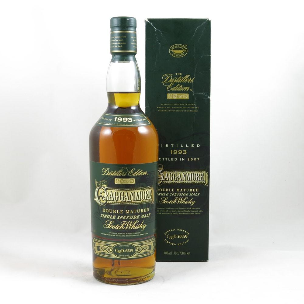 Cragganmore 1993 Distillers Edition 2007 front