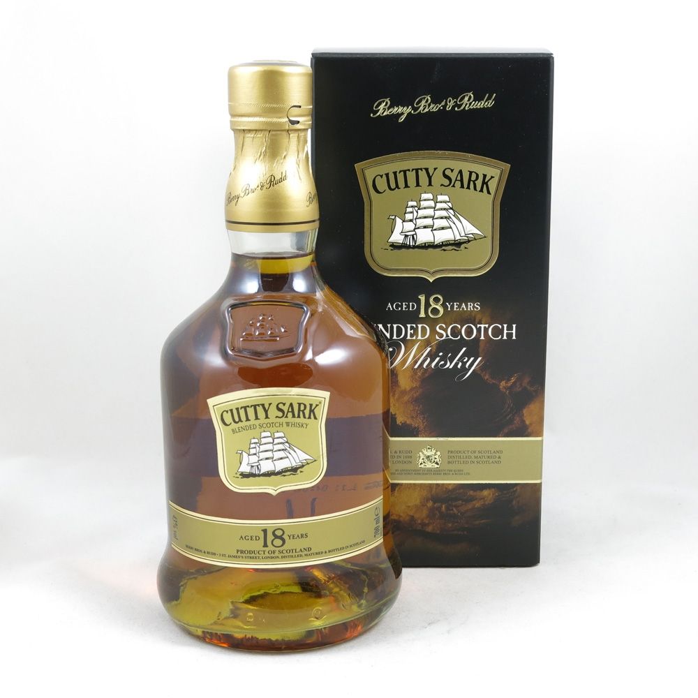Cutty Sark 18 Year Old front