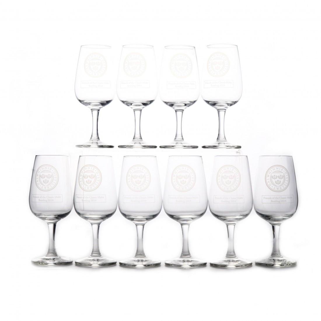 Dalwhinnie Tasting Glasses x 10