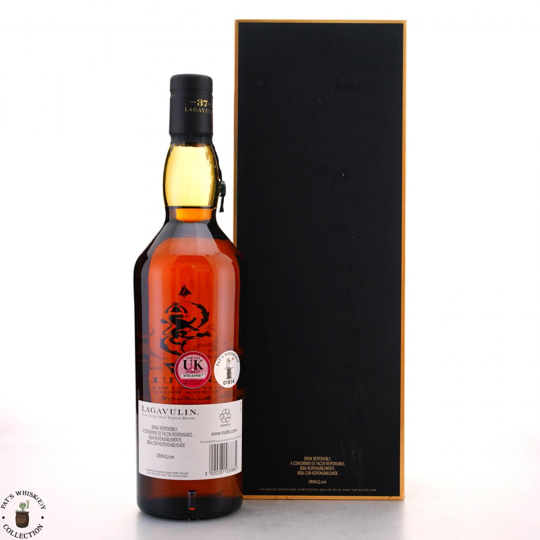 Lagavulin 1976 Cask Strength 37 Year Old