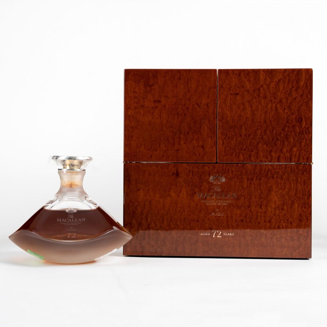 Macallan 72 Year Old Lalique Genesis Decanter