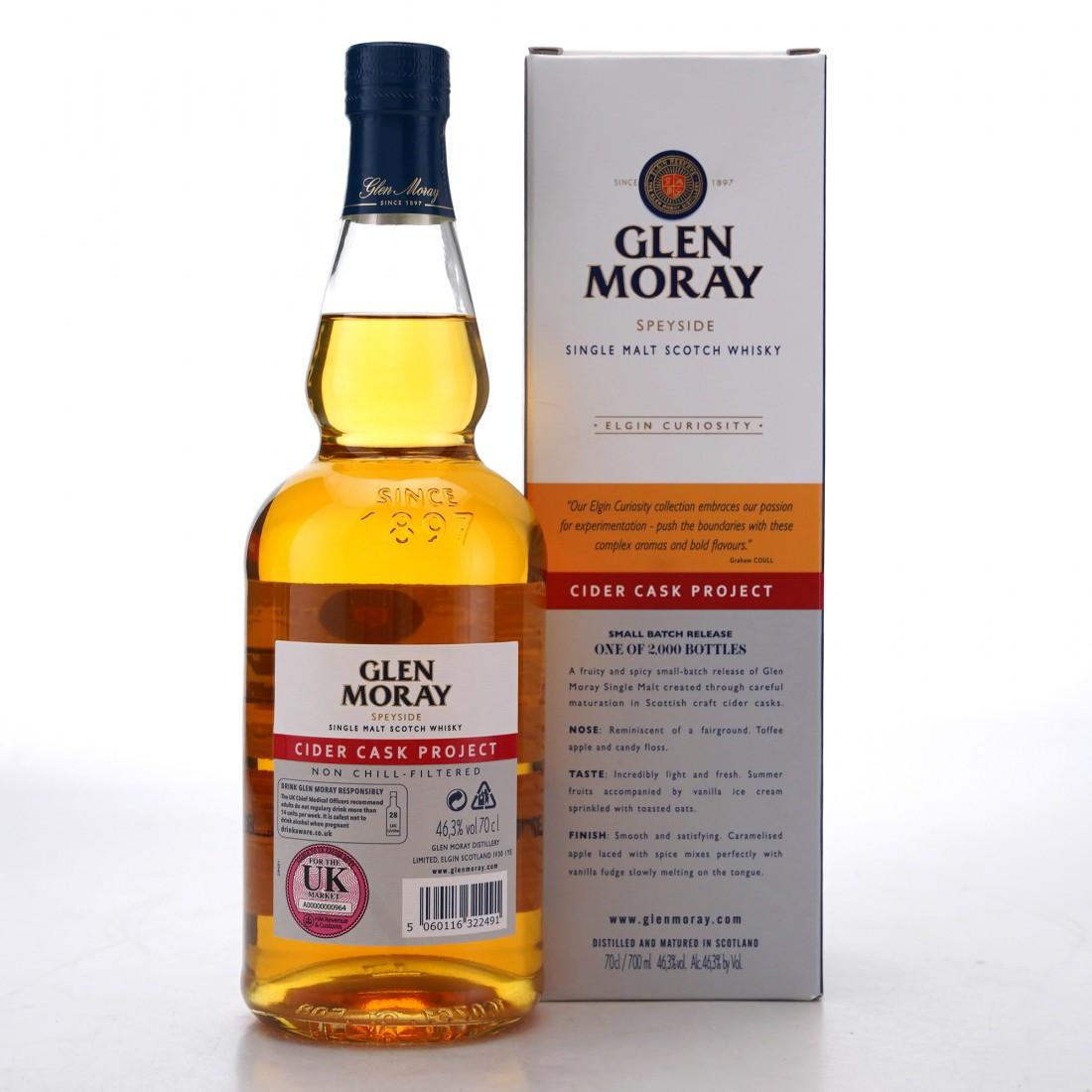Glen Moray Cider Cask Project / UK