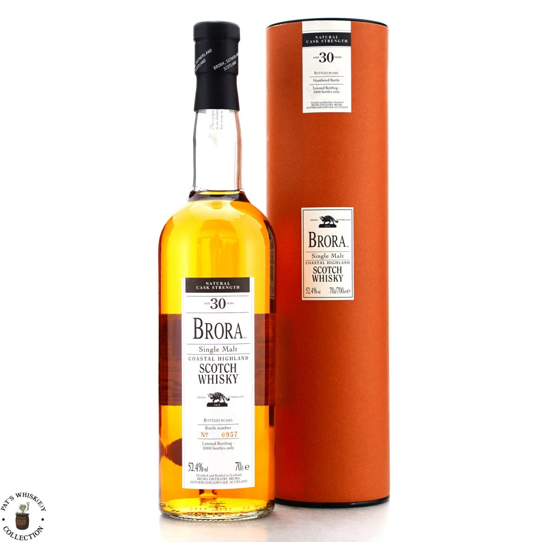 Brora 30 Year Old 2002 Inaugural Release