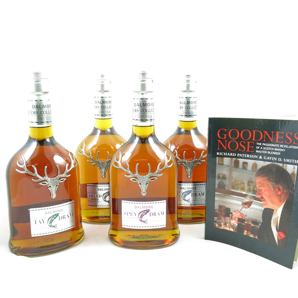 Dalmore River Series (Dee, Spey, Tay and Tweed Drams)