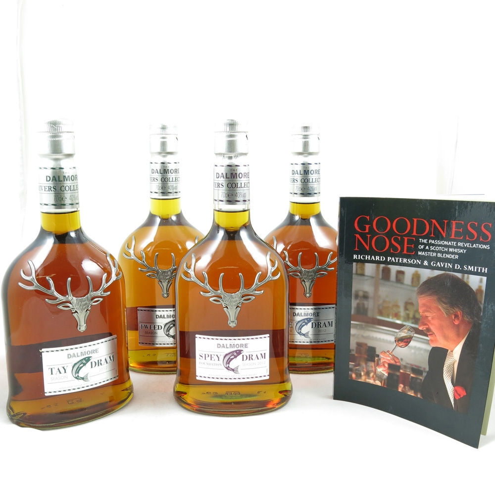 Dalmore River Series (Dee, Spey, Tay and Tweed Drams) Front