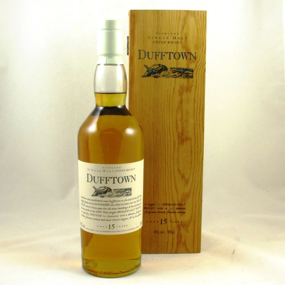 Dufftown 15 Year Old Flora and Fauna (Wooden Box) Front
