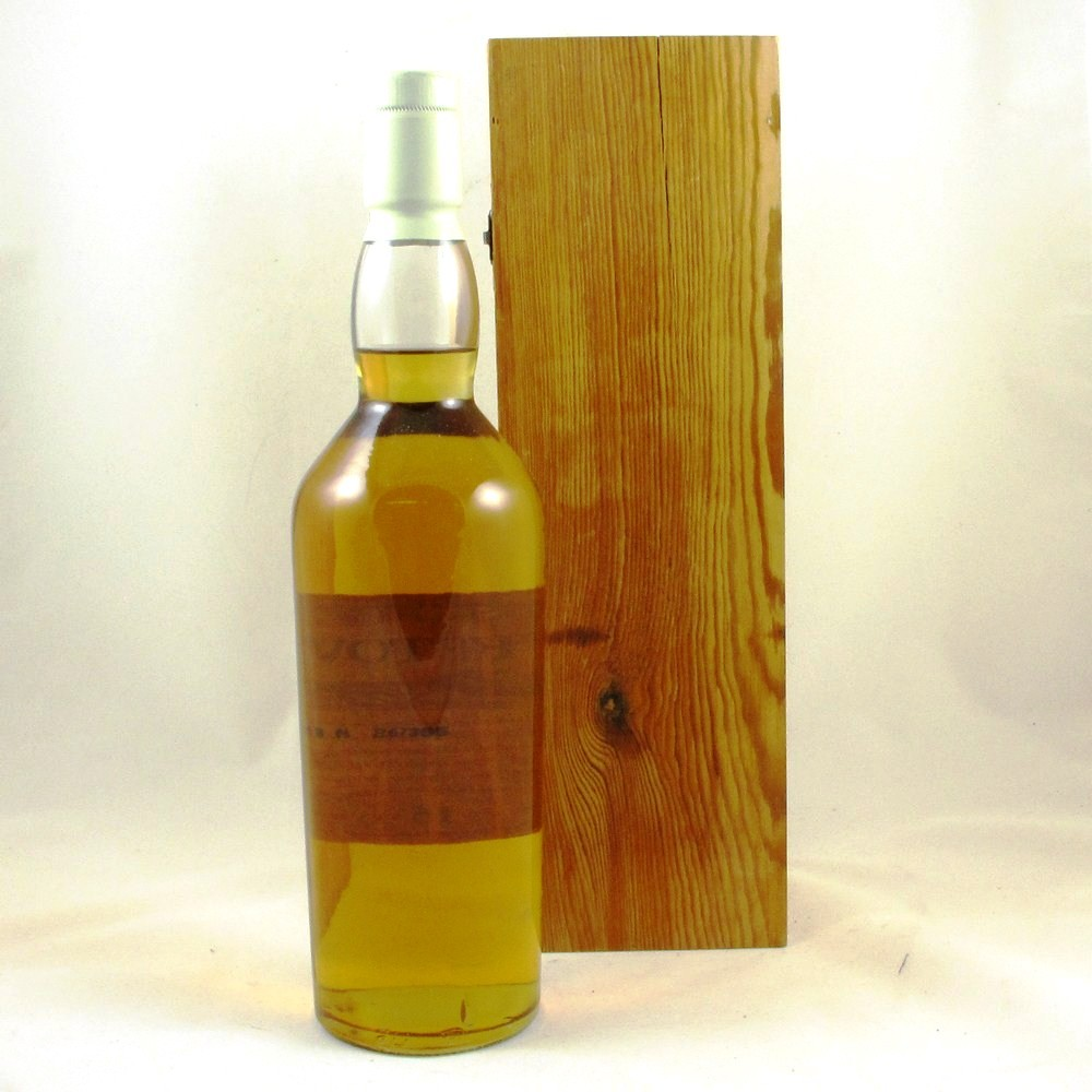 Dufftown 15 Year Old Flora and Fauna (Wooden Box) Back