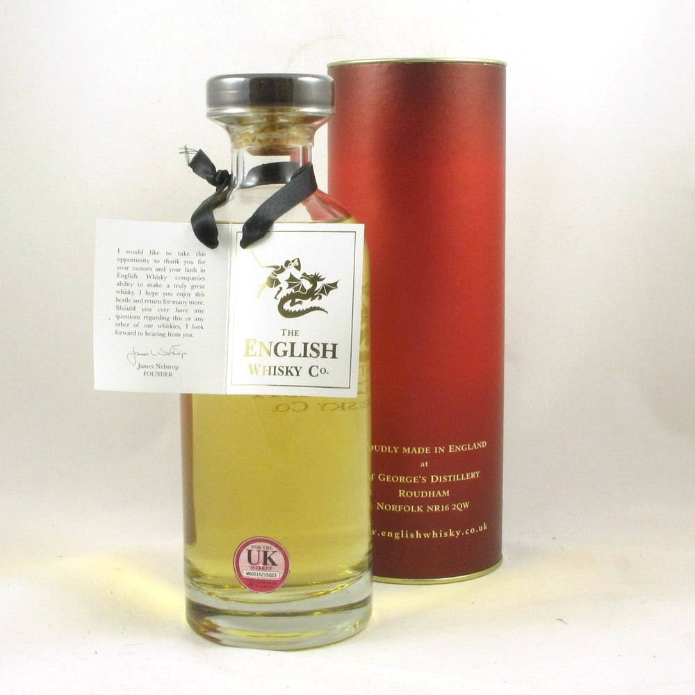 English Whisky Co 2007 Chapter 8 (Lightly Peated) Back