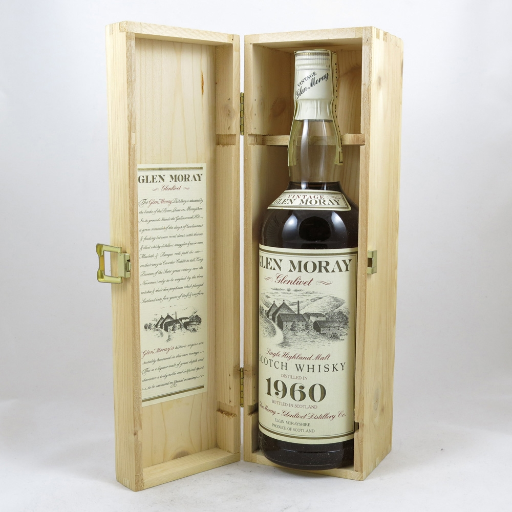 Glen Moray 1960 26 Year Old box