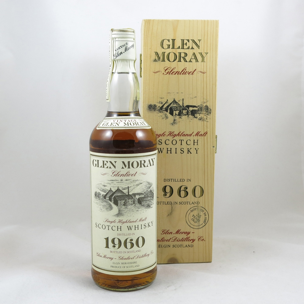 Glen Moray 1960 26 Year Old front