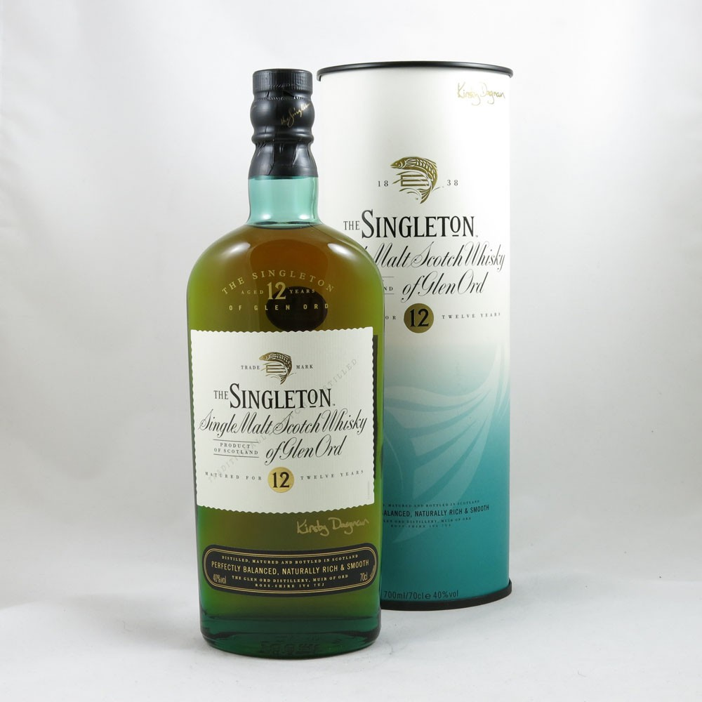 Singleton of Glen Ord 12 Year Old (Signed) front