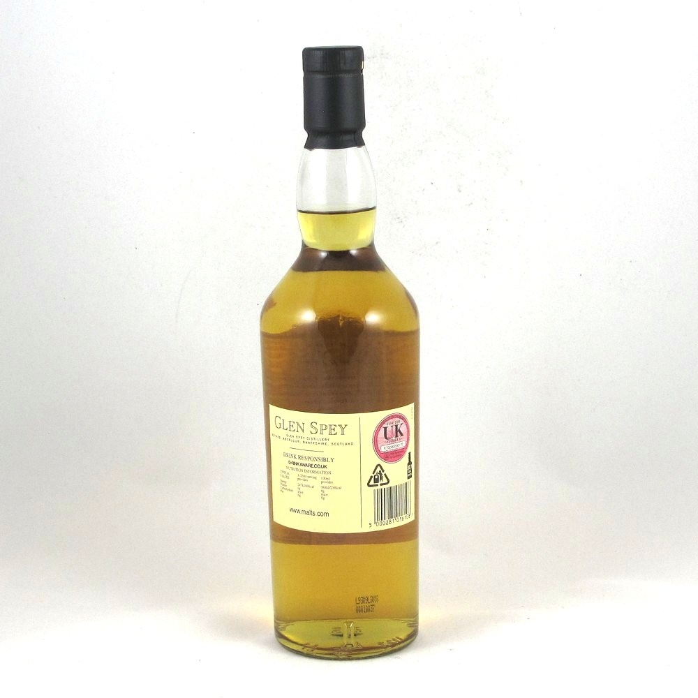 Glen Spey Flora and Fauna 12 Year Old Back