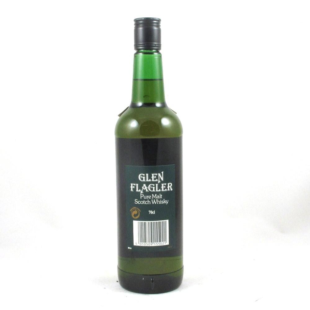 Glen Flagler Pure Malt Back