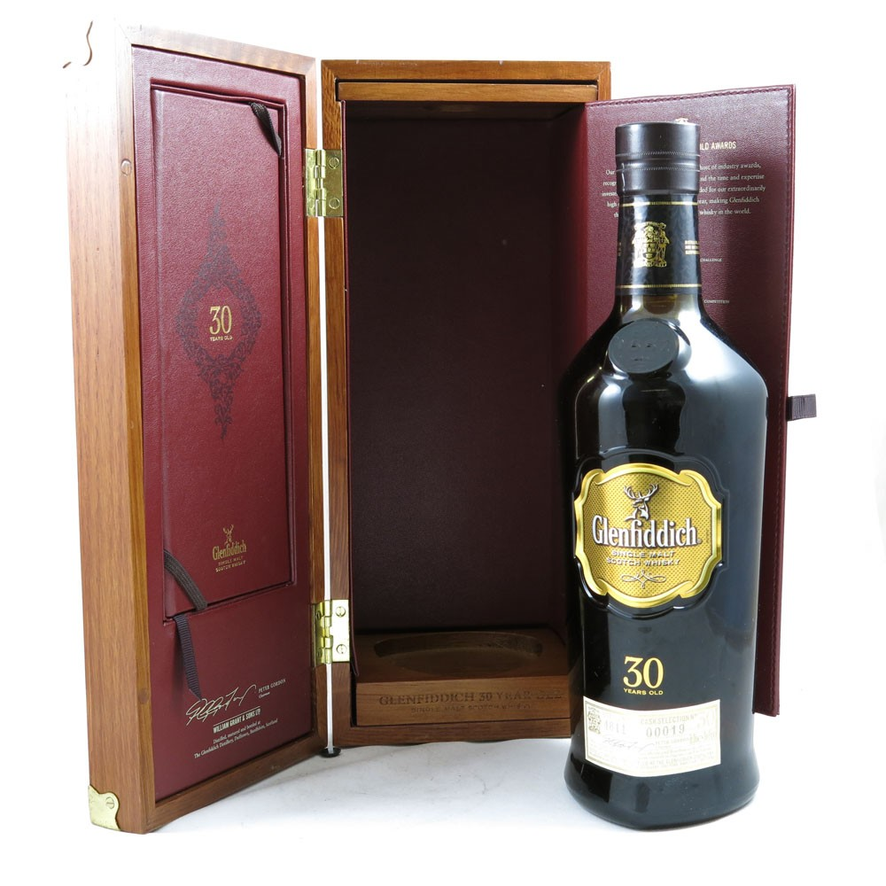 Glenfiddich 30 Year Old boxed
