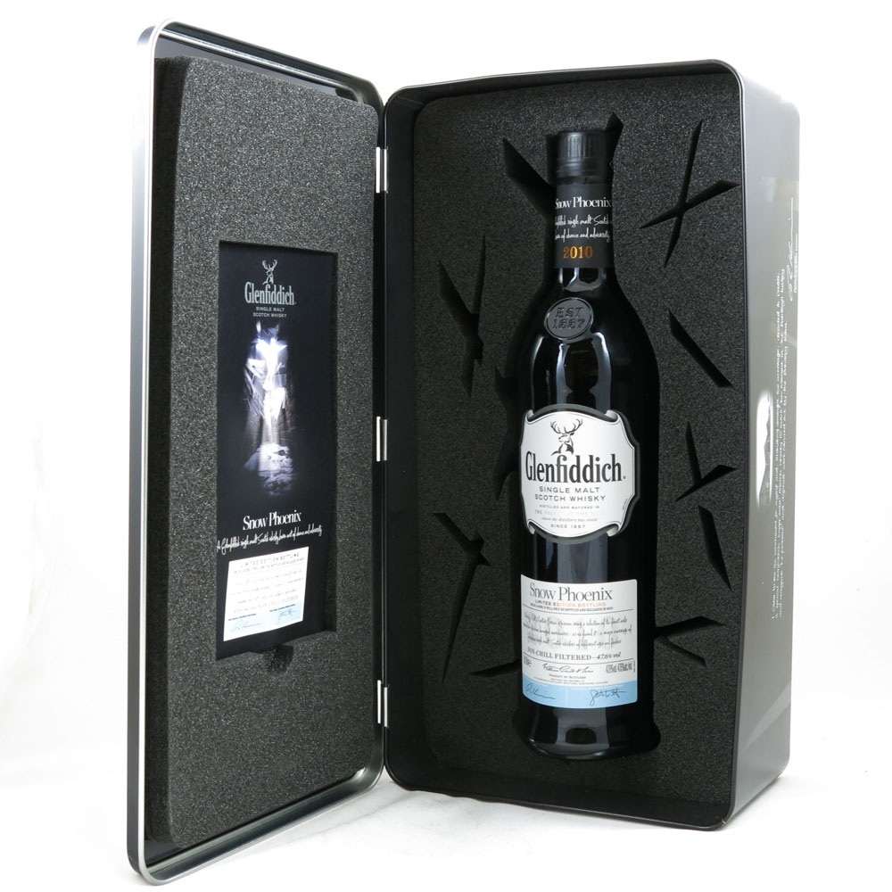 Glenfiddich Snow Phoenix boxed