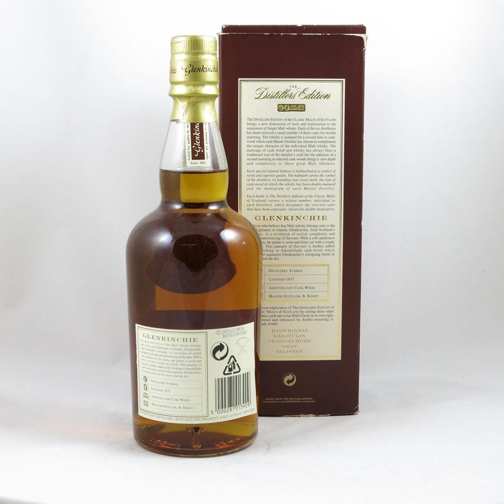 Glenkinchie Distillers Edition 1986 back