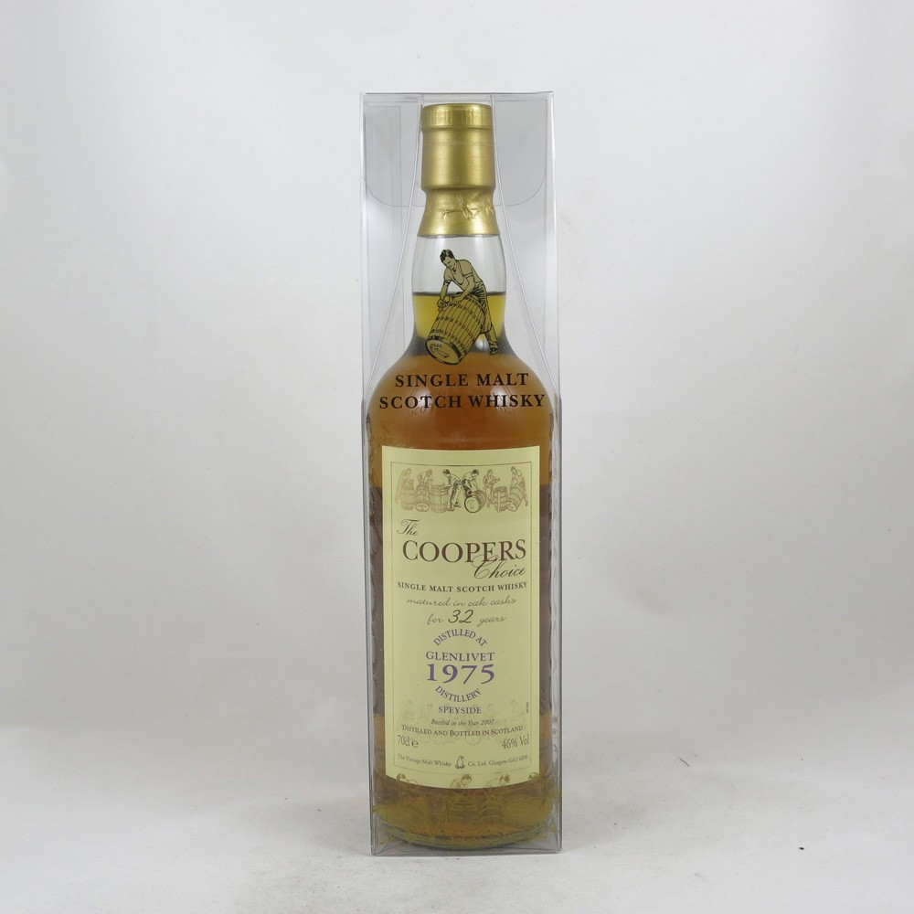 Glenlivet 1975 Coopers Choice 32 Year Old front