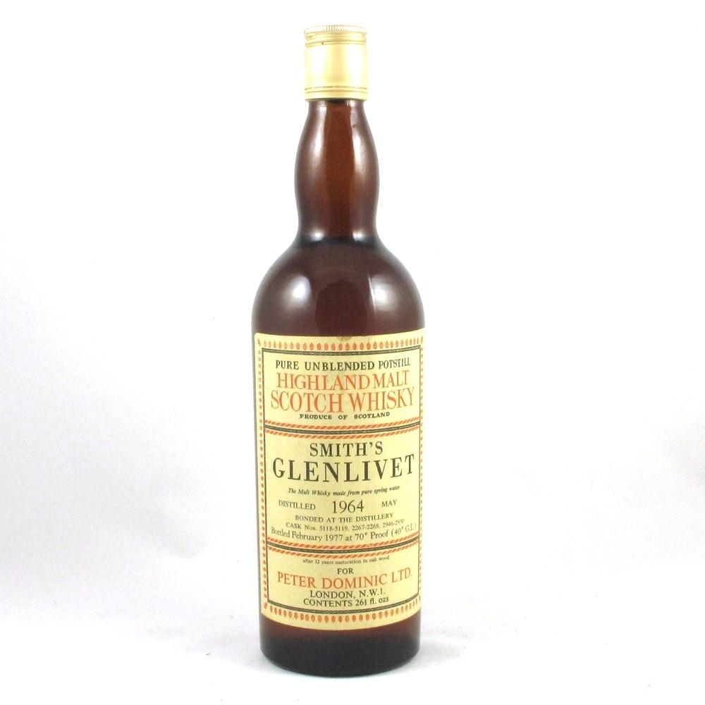 Glenlivet 1964 Peter Dominic Ltd (26 2/3 fl oz) Front