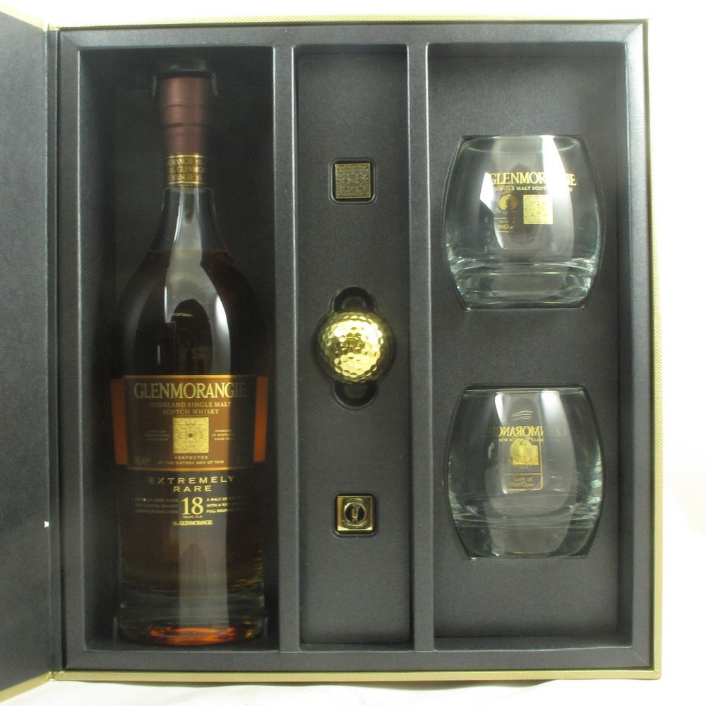 Glenmorangie 18 Year Old Open Championship 2013 Front Open