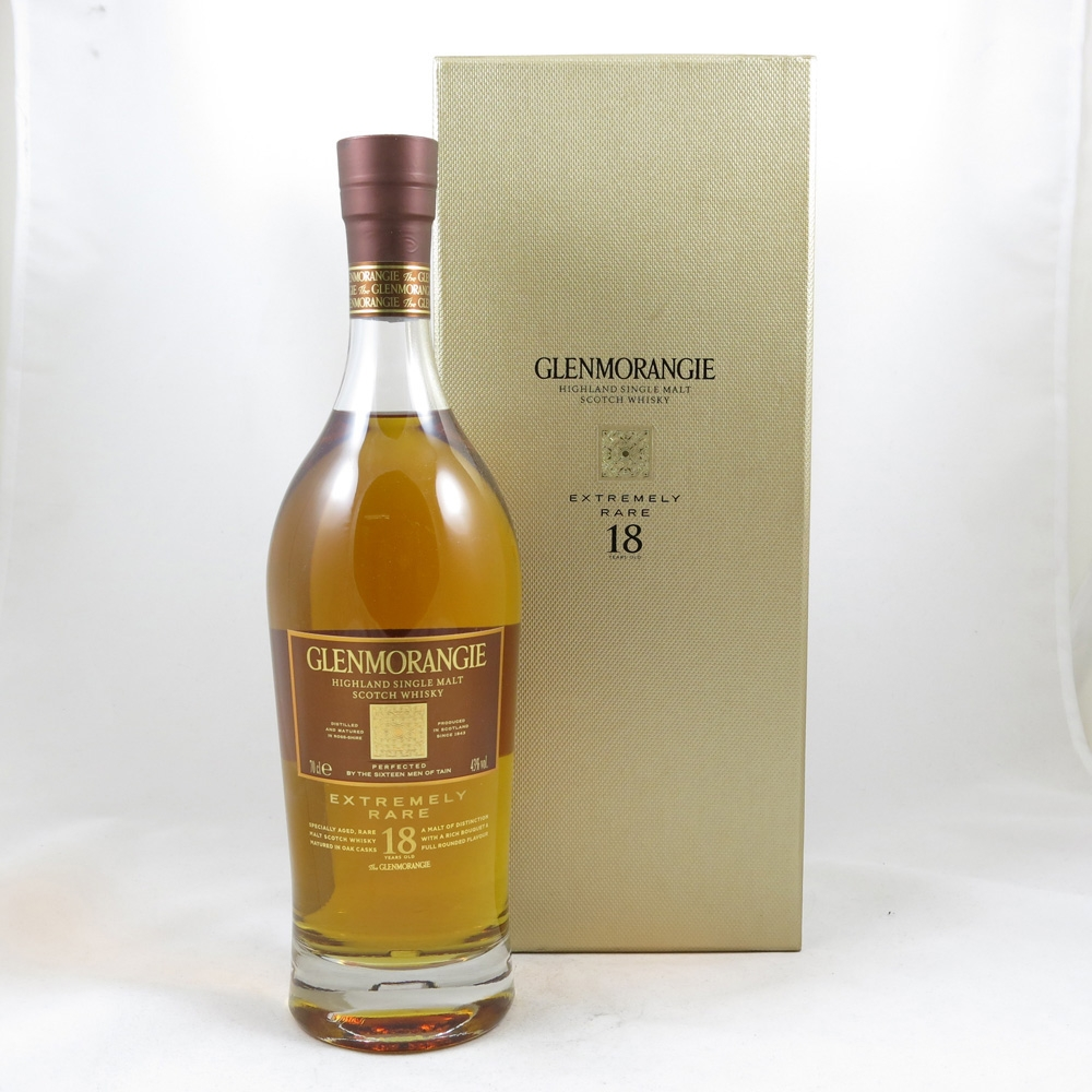 Glenmorangie 18 Year Old Very Rare front