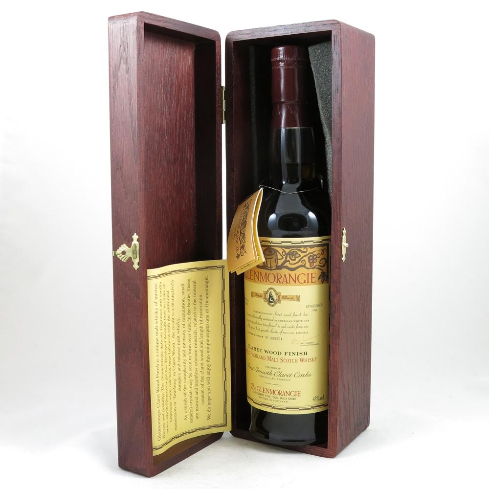 Glenmorangie Claret Wood Finish box