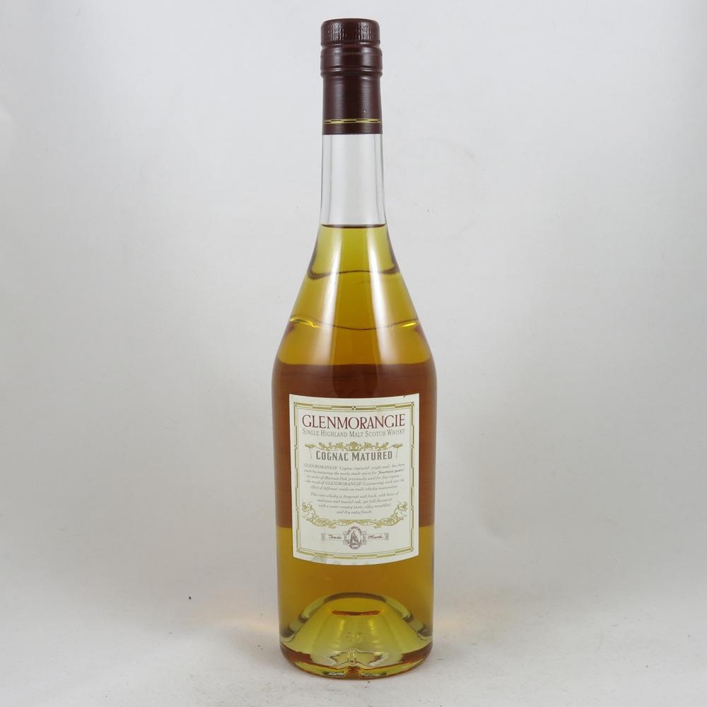 Glenmorangie Cognac Matured 14 Year Old Back