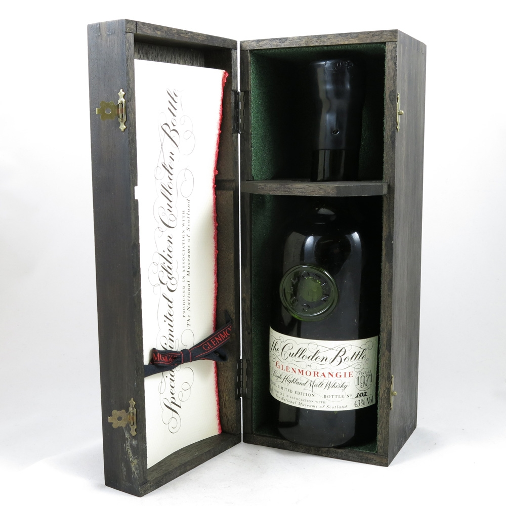 Glenmorangie 1971 (The Culloden Bottle) Open