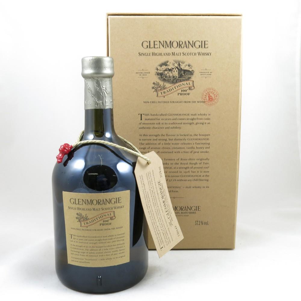 Glenmorangie Traditional 100 Proof 1 Litre back