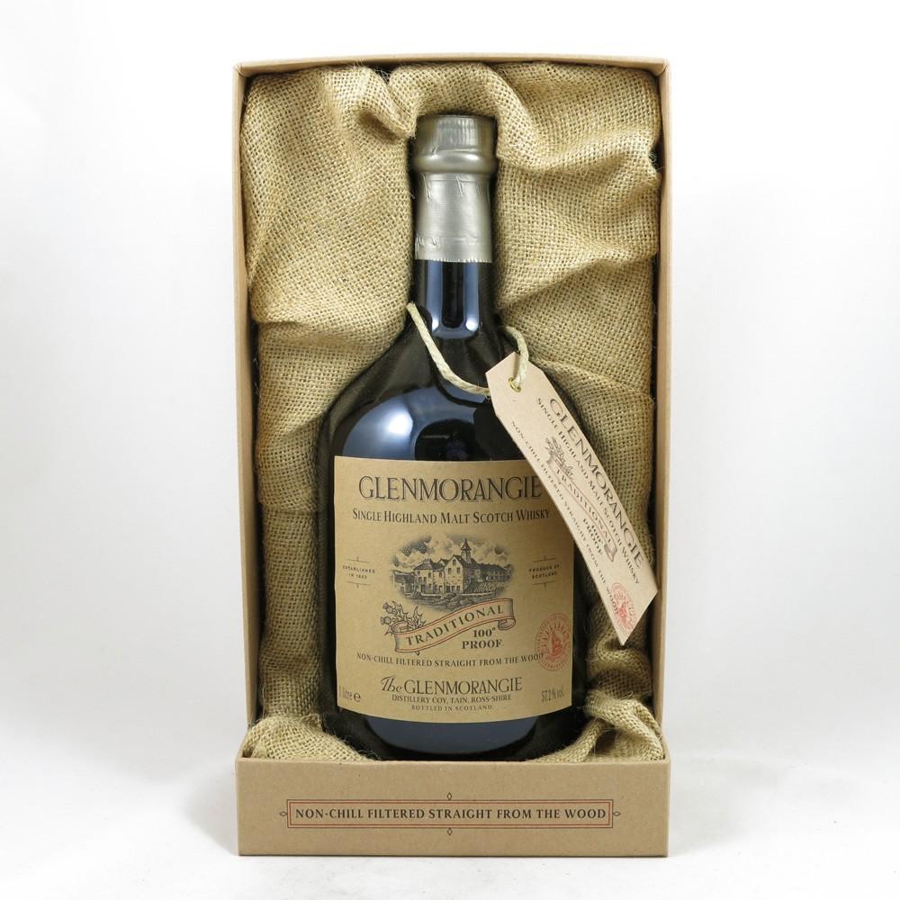 Glenmorangie Traditional 100 Proof 1 Litre box