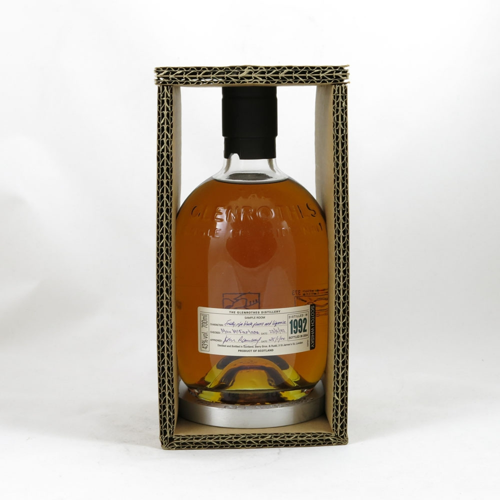Glenrothes 1992 front