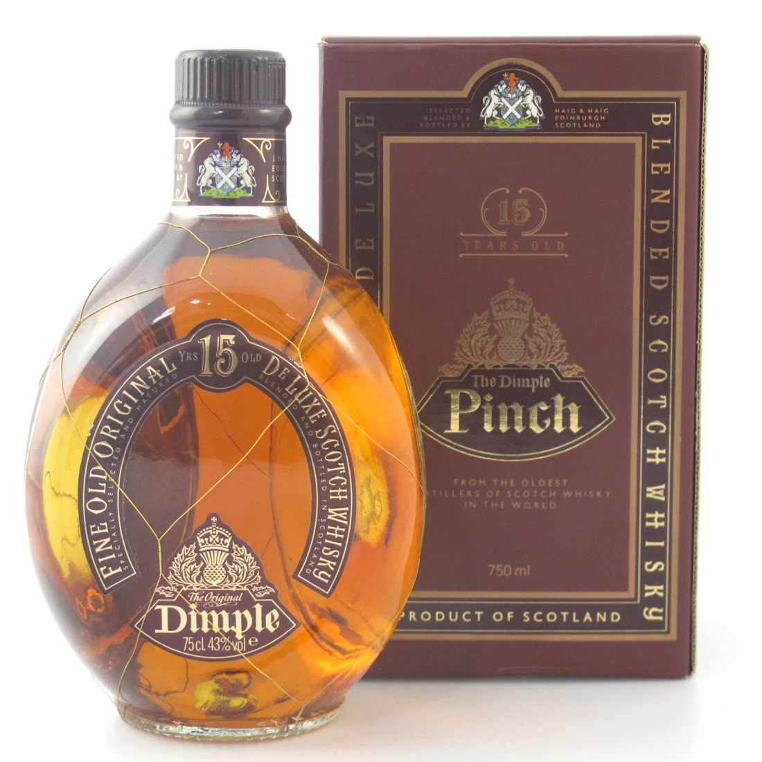 Haig's Dimple Pinch 15 Year Old 75cl / US Import