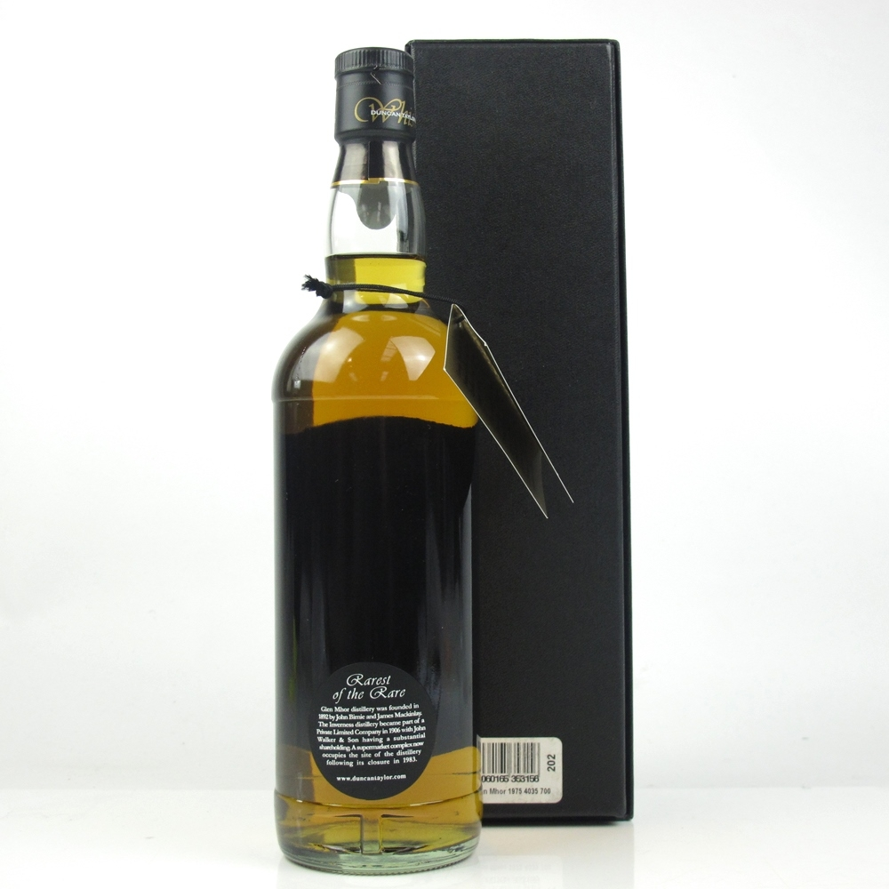 Glen Mhor 1975 Duncan Taylor 33 Year Old