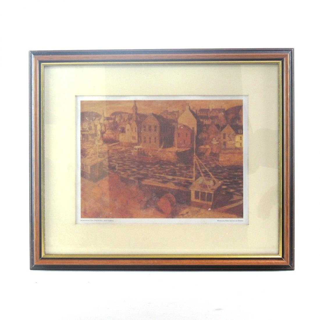 "Highland Park Images of Orkney Prints / ""Midmorning Sun, Stromness"""