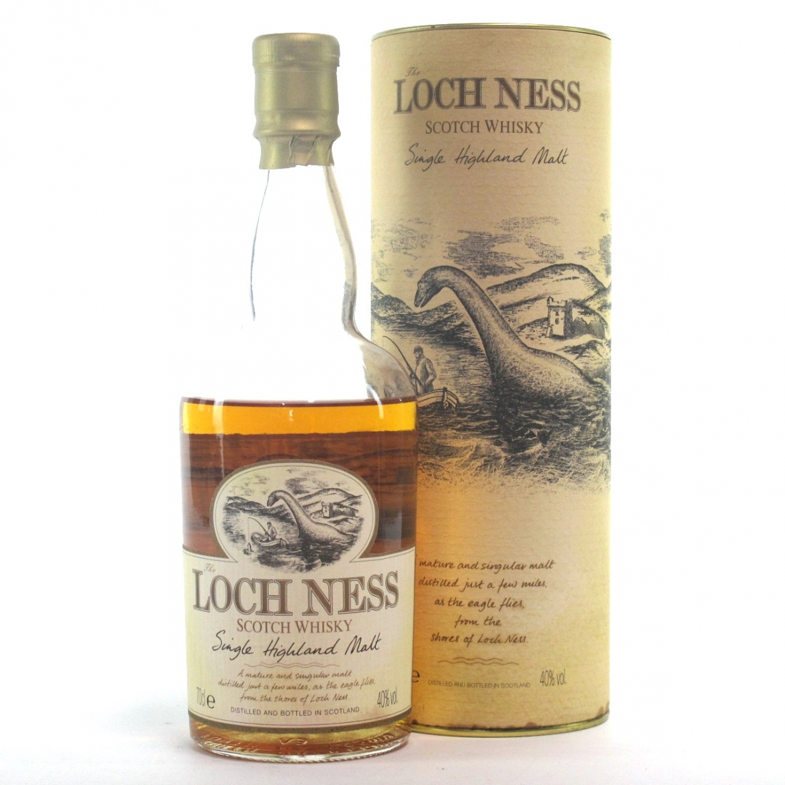 Loch Ness Highland Single Malt