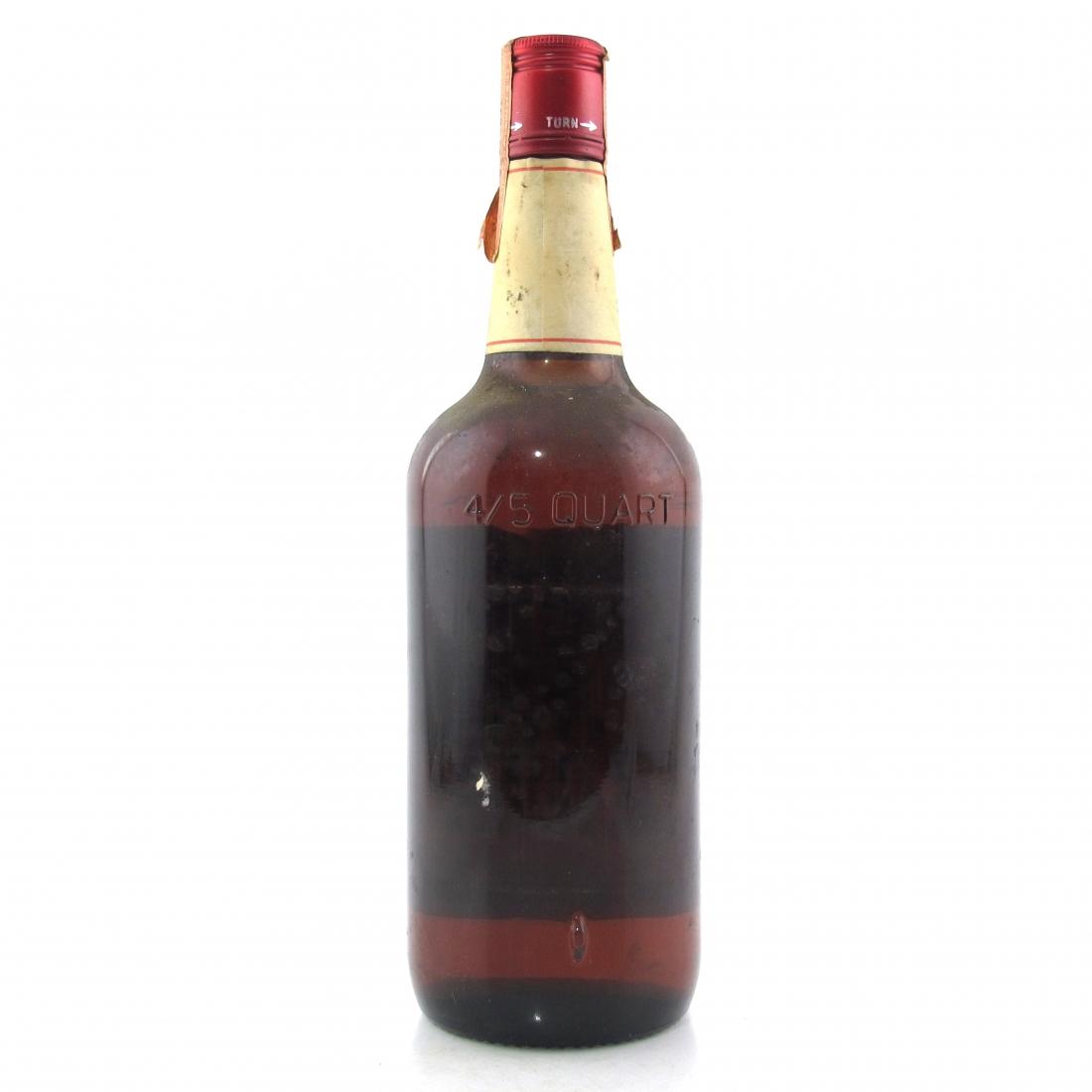 Old Overholt Straight Rye Whiskey 1970s