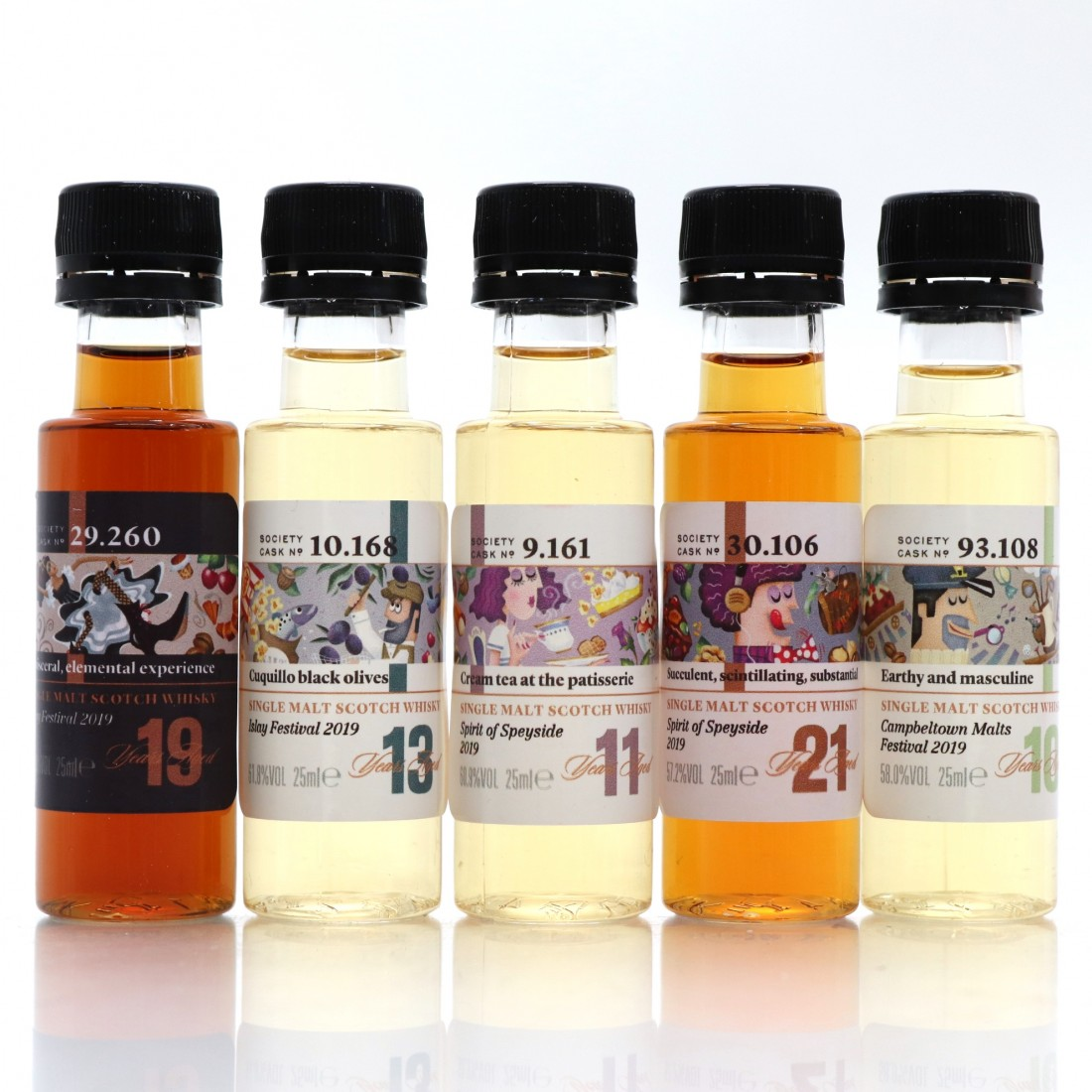 SMWS Festival Discovery Pack / 5 x 2.5cl