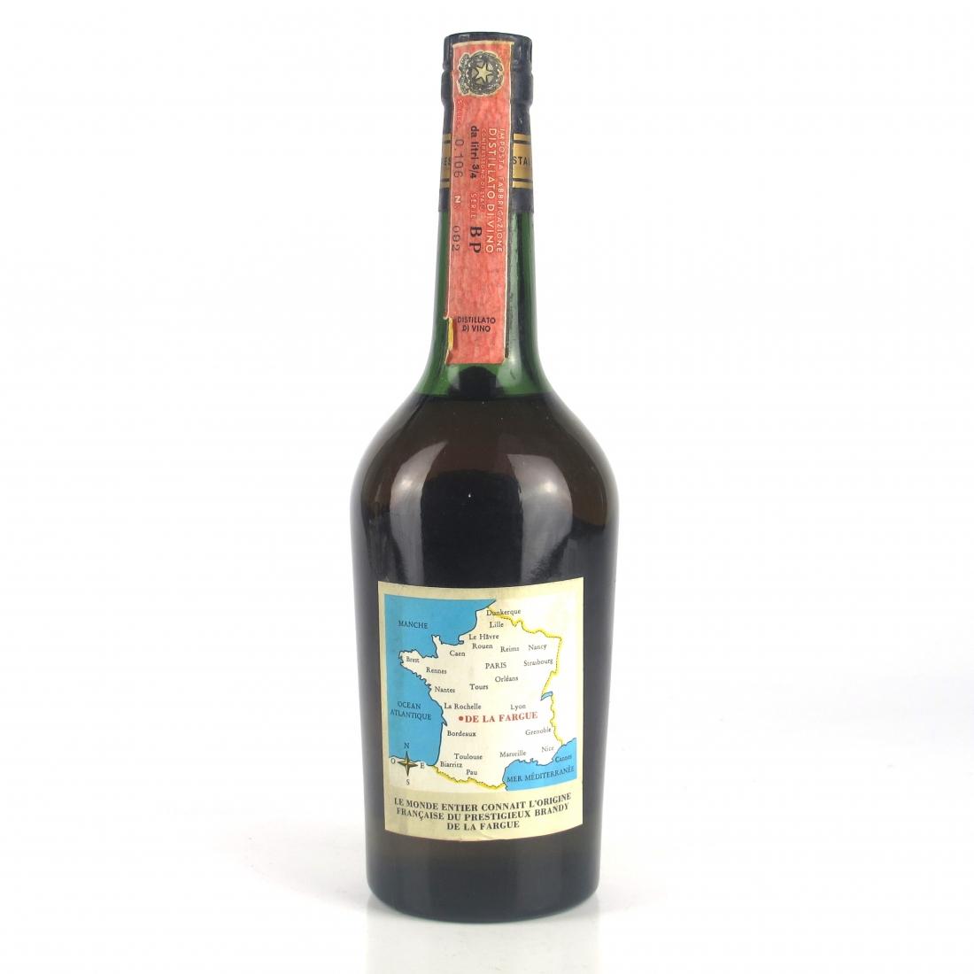 De La Fargue 12 Year Old Napoleon Brandy 1970s