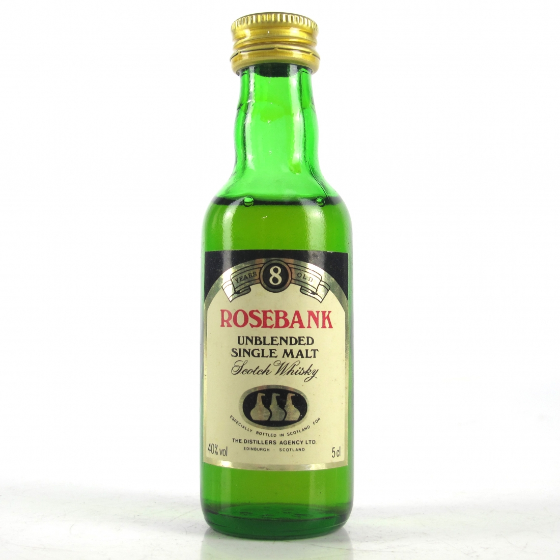 Rosebank 8 Year Old Miniature 5cl 1980s