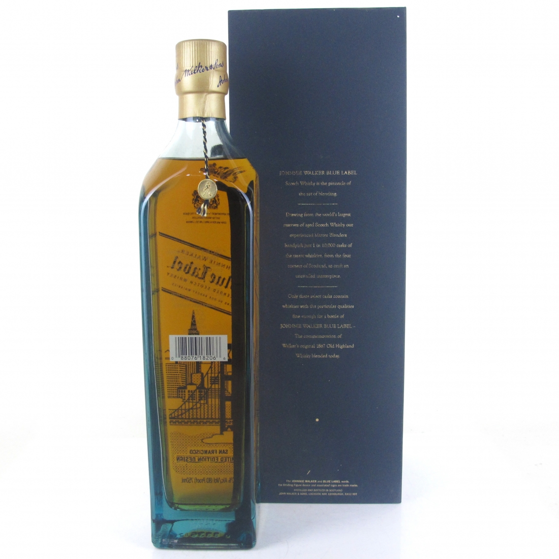 Johnnie Walker Blue Label San Francisco Limited Edition 75cl / US Import