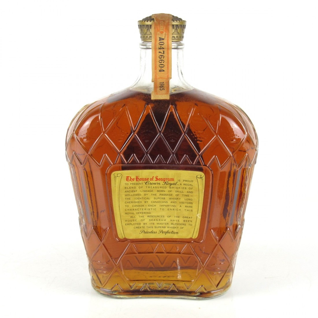 Seagram's 1965 Crown Royal Canadian Whisky
