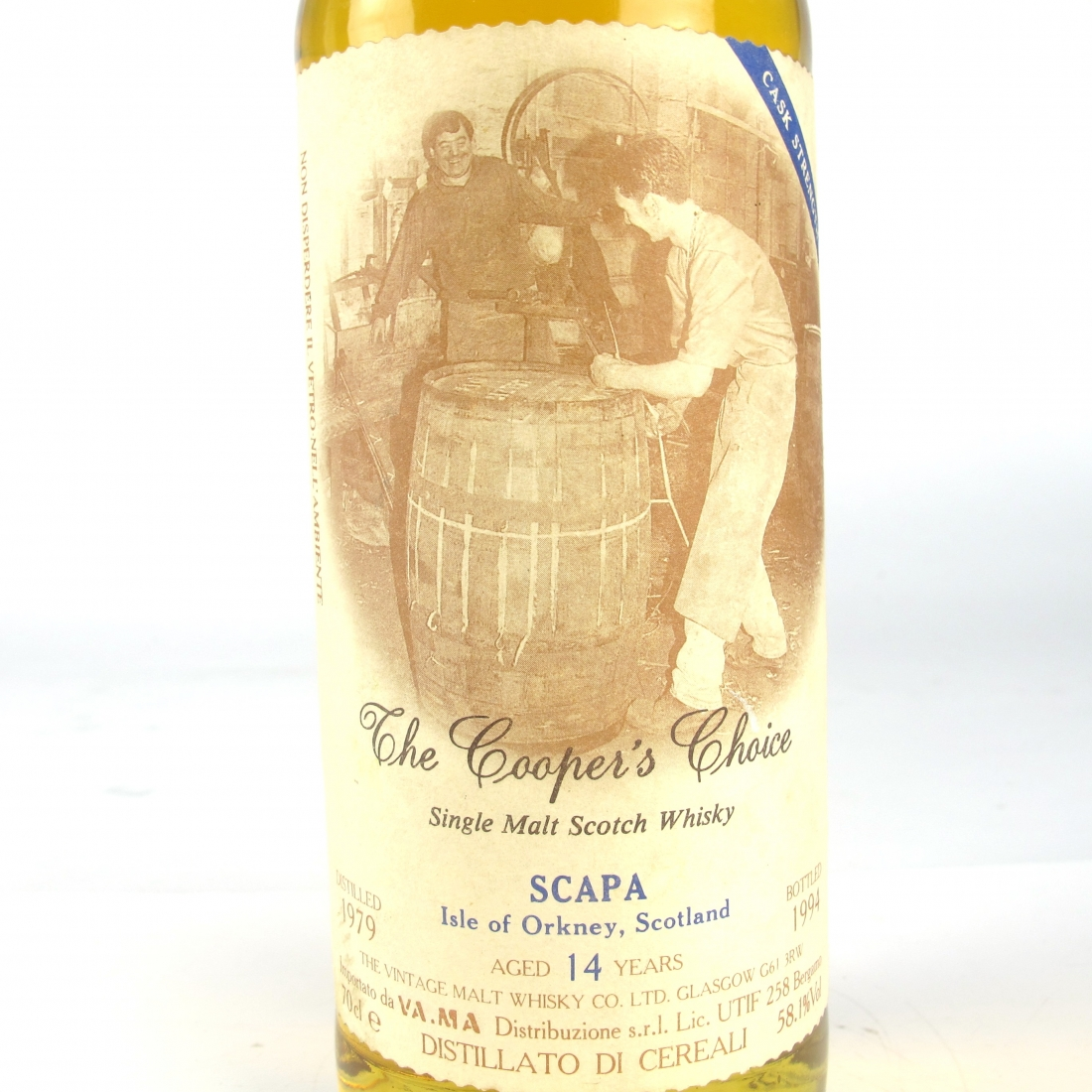 Scapa 1979 The Cooper's Choice 14 Year Old