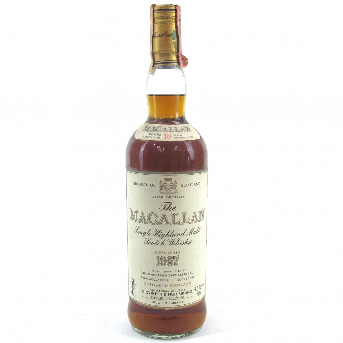 Macallan 18 Year Old 1967