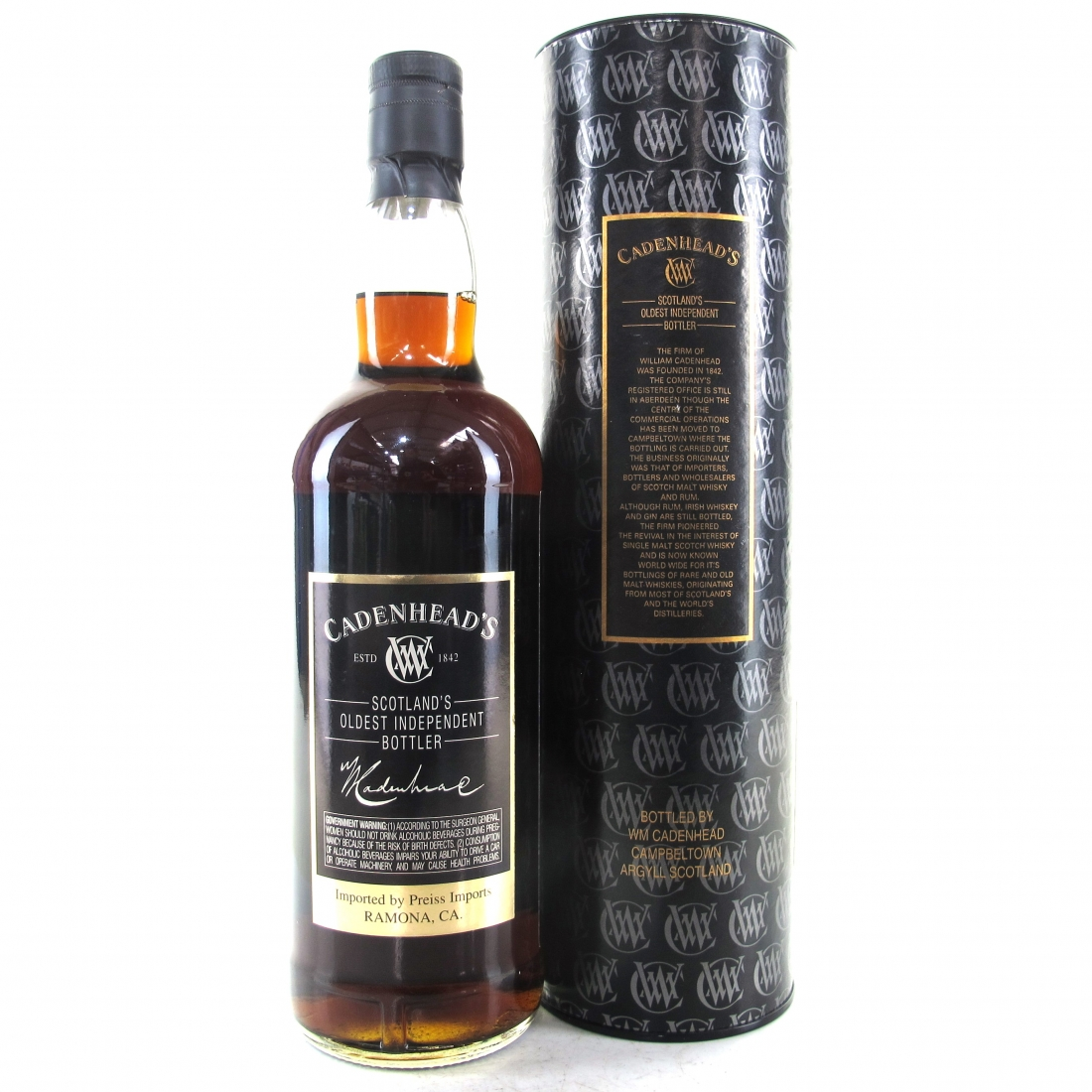 Glenglassaugh 1978 Cadenhead's 22 Year Old 75cl / US Import