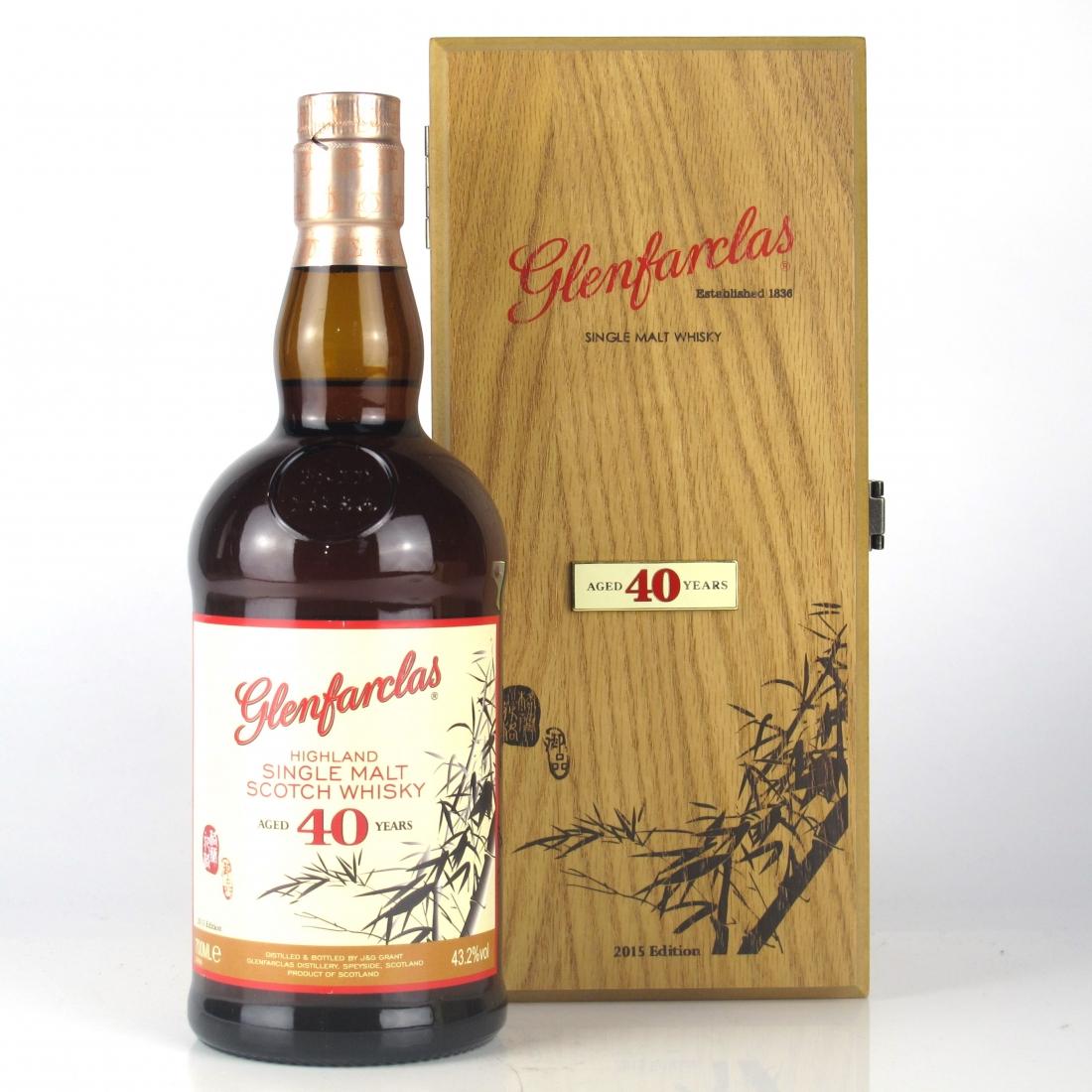 Glenfarclas 40 Year Old 2015 Edition