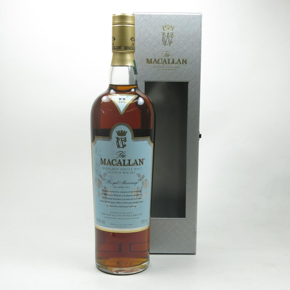 Macallan Royal Wedding Front