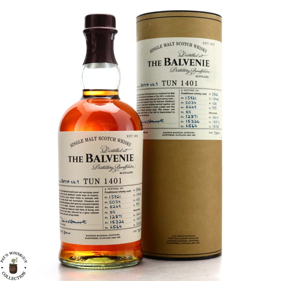Balvenie Tun 1401 Batch #9 75cl / US