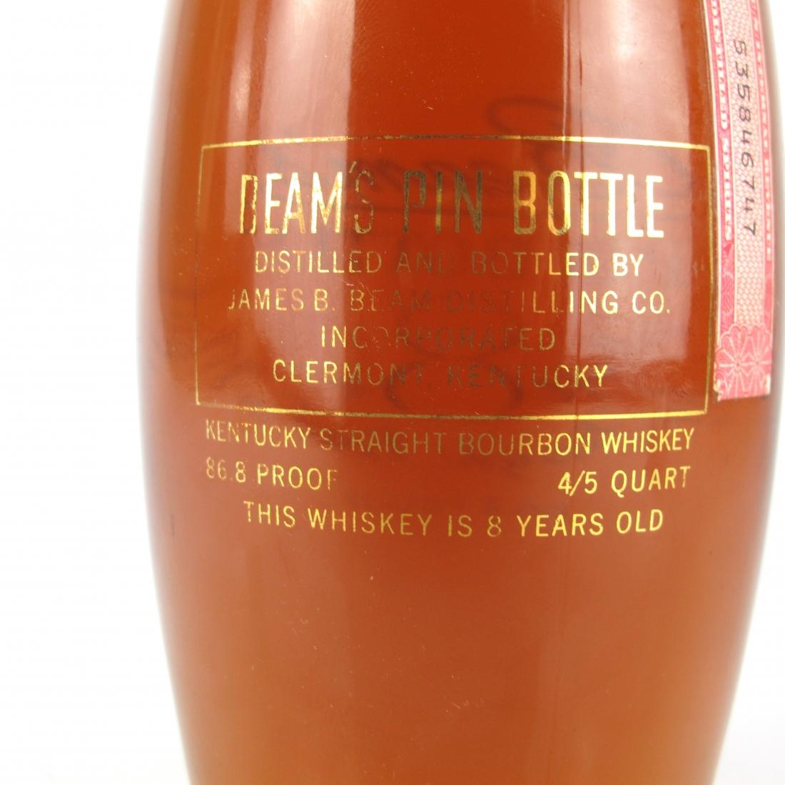 Jim Beam / Beam's Pin Bottle 8 Year Old