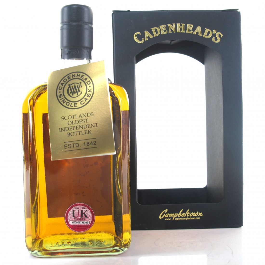 Royal Brackla 1976 Cadenhead's 38 Year Old