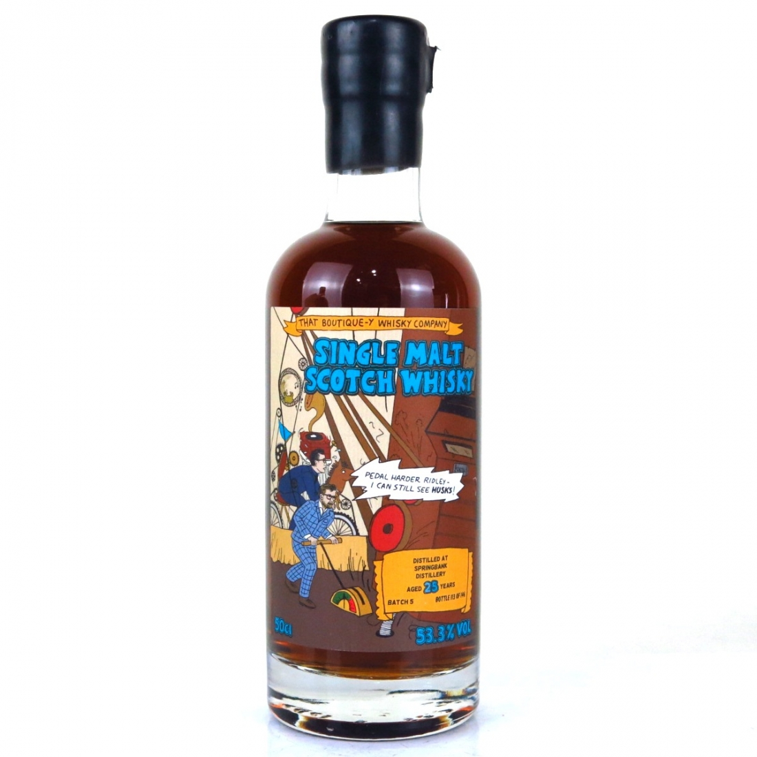 Springbank That Boutique-y Whisky Company 25 Year Old Batch #5