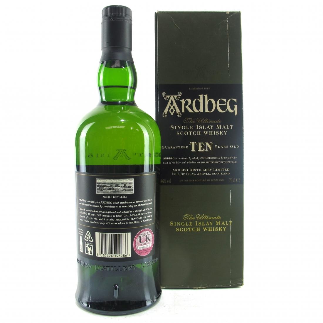 Ardbeg 10 Year Old / World Whisky of the Year 2008